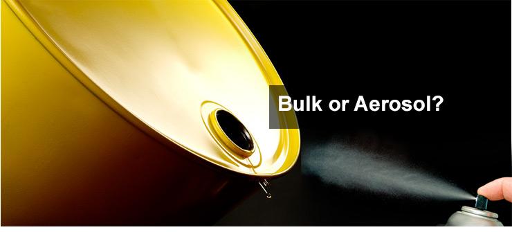 Bulk or Aersol?