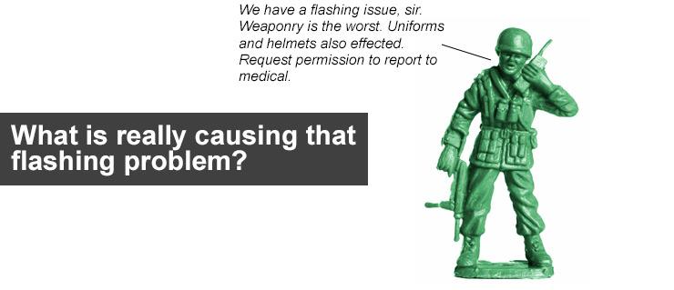 Flashing problems