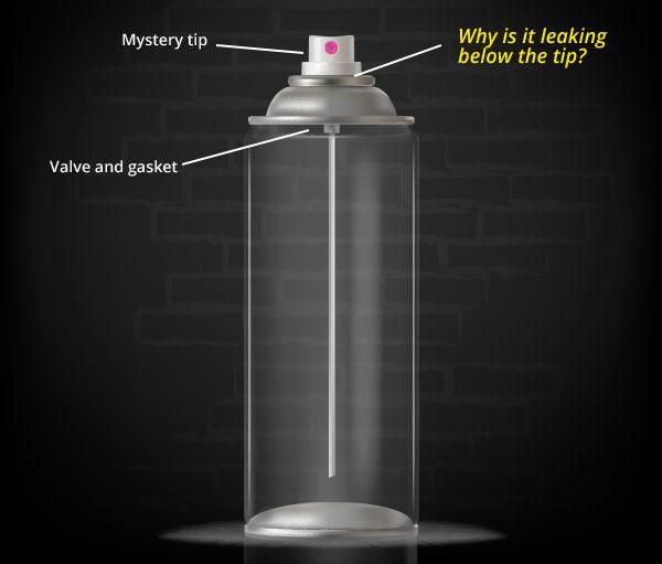 Leaking Spray Bottle