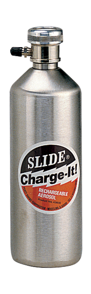 Charge-It! refillable, rechargeable aerosol accessory No. 43600